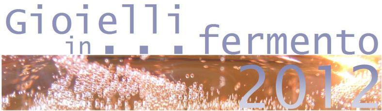 Gioielli in fermento 2012
