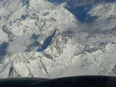 il Cervino, Alpi, tra Italia e Svizzera