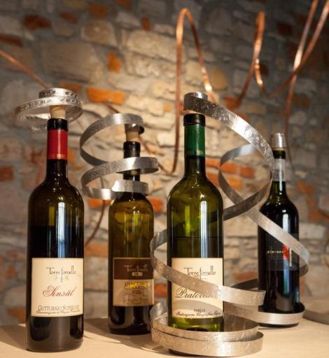 #tecnicalieve accessori da bottiglia #ElianaNegroni @ Torre Fornello