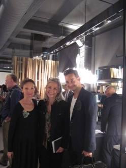 with Claudia Steiner and Paulo Ribeiro