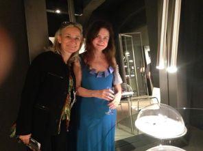 with Mirna Korolkovas from Brasil
